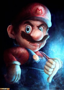 Badass-Art-of-Super-Mario-by_joshuar-summana